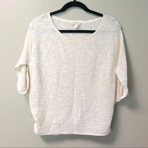 Anthropologie Meadow Rue Top Dolman Ribbed Thin